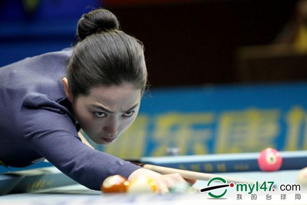 潘晓婷/北京时间6月10日,2011世界9球中国公开赛继续会内赛第二天的...