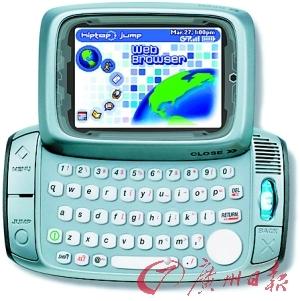 鲁宾发明的智能手机Sidekick。