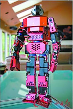 鲁宾制造的机器人。