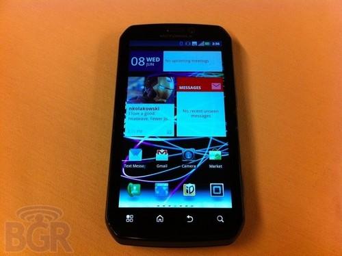 摩托罗拉Photon 4G搭载了Android 2.3版本系统