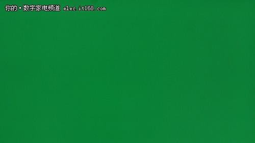 松下TH-P42C22C绿色实拍图