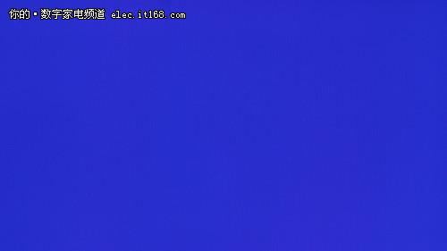 松下TH-P42C22C蓝色实拍图