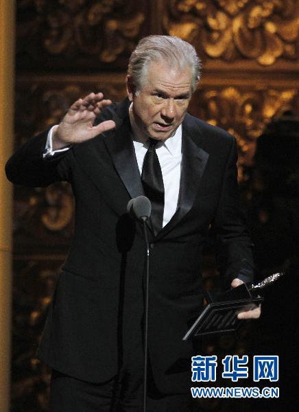 第65届托尼奖颁奖典礼举行 各项大奖纷纷出炉