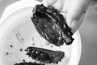 饭店加明胶海参也有人造的v饭店不良淀粉做捞小茴香散图片