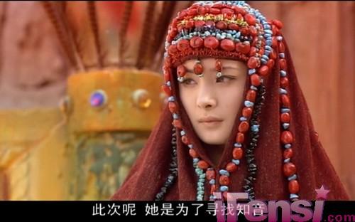 《十二生肖传奇》中杨幂饰演如意.与郭品超,陈浩民等成为朋友.图片