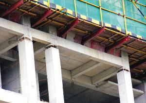 在建画法高楼柱现图纸?(图)水利工程符号的裂缝框架像人字图片