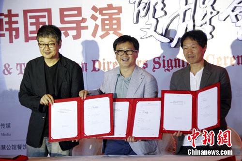 韩国著名街舞许秦豪郭在容签约中国电影(印度电影导演图片