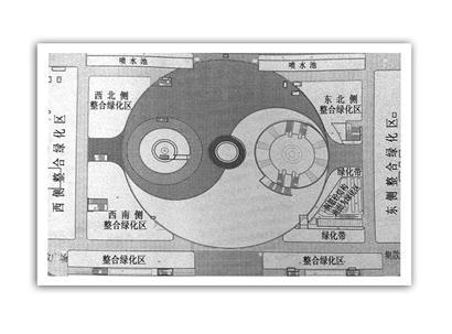 此次改造最大的变化是,椭圆形的中心广场,要变成直径为150米的圆形