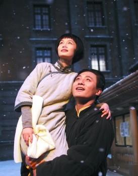 刘烨和李沁在片中饰演毛泽东和杨开慧
