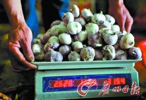 6月5日,广西全州县城农贸市场。新华社发