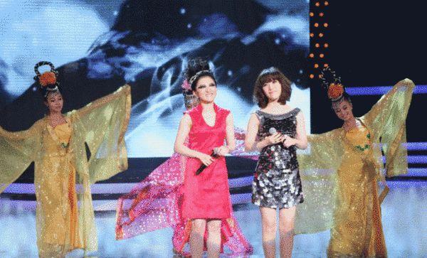 金铭(左)与胡杨林(右)