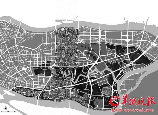 新中轴线南段城市设计效果图