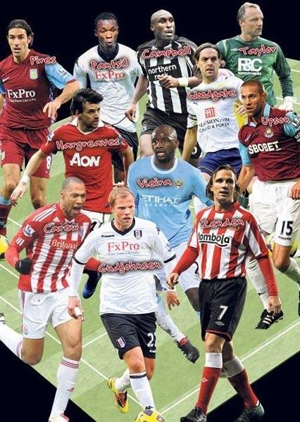 ...球员其中不乏有昔日震惊世界足坛的大牌球星譬如曾在阿森纳...