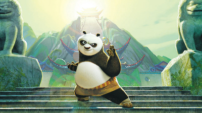 以熊猫为题材的动画片 2011年5月,美国梦工厂制作的《功夫熊猫2》在中国上映后取得高票房。