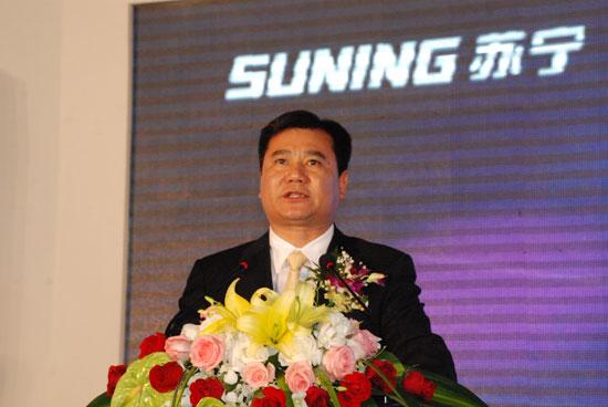 苏宁电器集团董事长张近东先生(图)