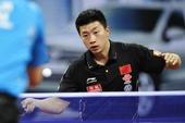 图文:中国公开赛马琳4-2马龙夺冠 马龙正手