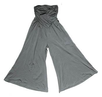 绿色阔身裤$799