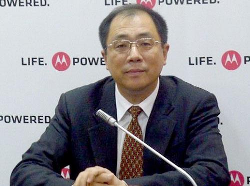 摩托罗拉高级副总裁孟璞