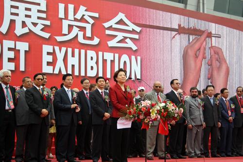 商务部部长助理仇鸿在开幕仪式上致辞(本网记者 余翔 摄)图片