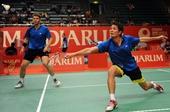 图文:[羽毛球]印尼超级赛 洪伟/沈烨晋级
