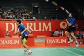 图文:[羽毛球]印尼超级赛 德国选手富克斯