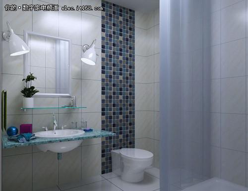 小面积浴室装修效果图赏1
