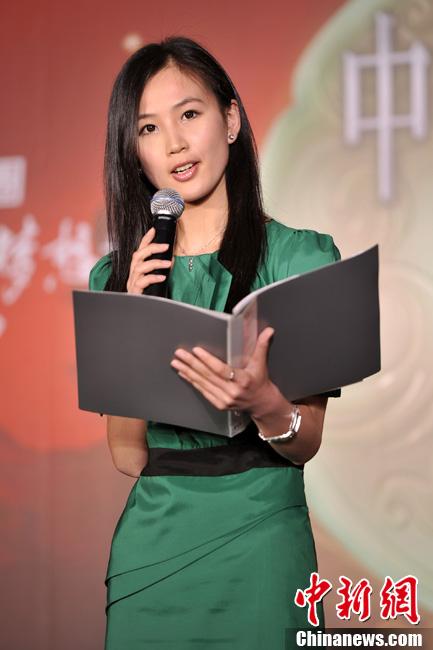 2011中华小姐北京复赛秀才艺(组图)