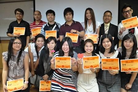 北京华文学院举办长期班中高级班学生汉语演讲赛(图)图片