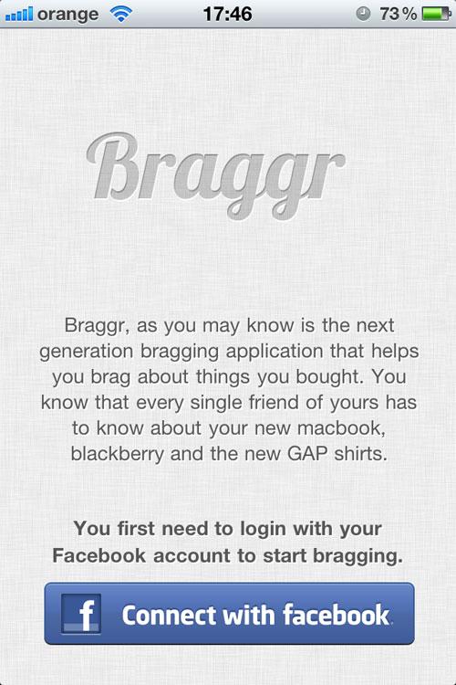 私物分享社区应用Braggr:利用条形码扫描上传