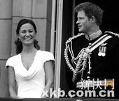 传英哈里王子与凯特王妃妹妹暧昧 竞争者众(图)