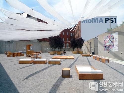 超大型装置现身纽约现代艺术博物馆ps1(组图)1