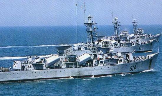 中国海军江湖级导弹护卫舰.-江湖I型 053H 导弹护卫舰