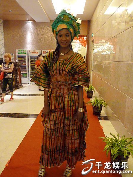 世界小姐、中非爱心大使玛利亚