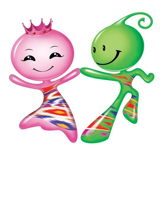 第二届中国新疆国际民族舞蹈节吉祥物揭晓(图)