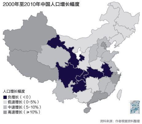 我国各省人口_其他使用其他九种之一的主要方言的人口主要分布在南部,东南部