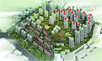 青岛市洛阳路片区保障性住房项目二期工程昨日开建