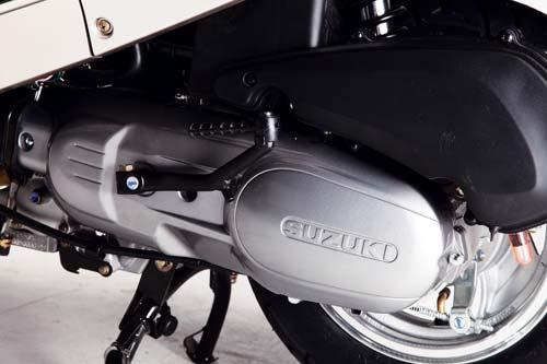 济南轻骑铃木摩托车有限公司 QS153QMI-A