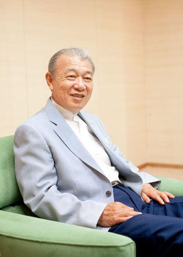日本财团会长笹川阳平,现在是日本民间公益活动的领军人物。