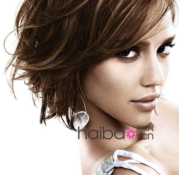 炎炎夏日还是短发发型最清爽,小清新,中性风,名媛范,百位最美短发女图片