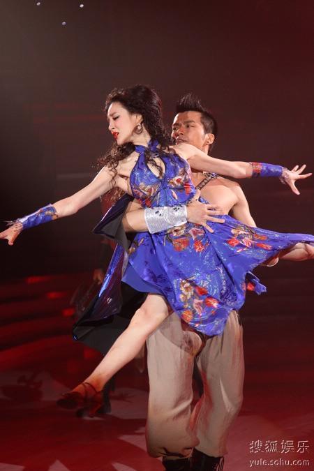 刘雨欣舞蹈和表演融为一体