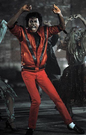 迈克尔-杰克逊在《Thriller》MV中造型