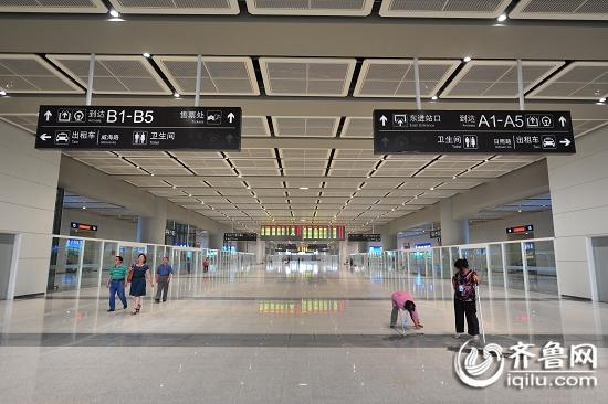 京沪高铁济南西站即将投入使用 内部高清图