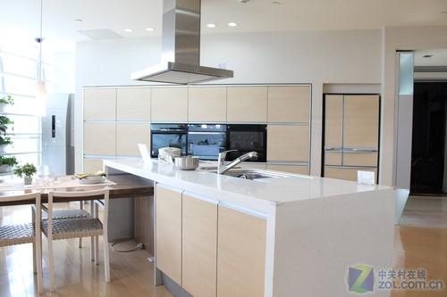 小户型 厨房/开放式厨房实例