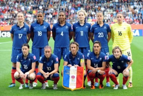 女足世界杯加拿大0 4法国 高卢雄鸡首发阵容