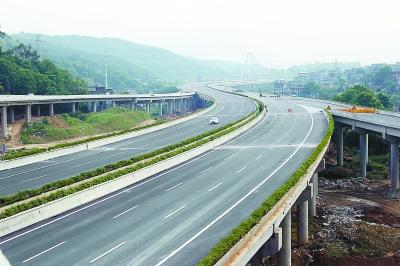 福州绕城高速永丰互通两匝道1日通车(图)图片