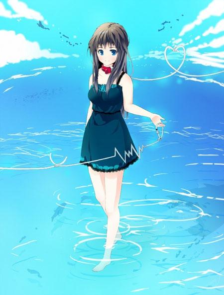 美丽在盛夏 动漫美女可爱性感的连衣裙(组图)