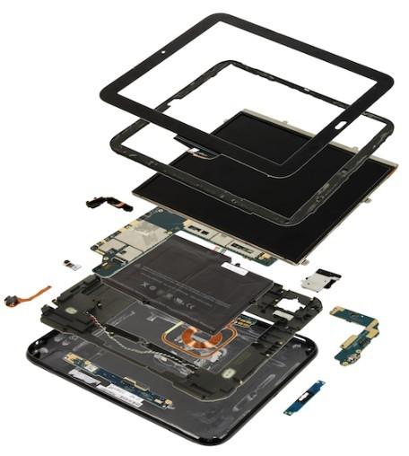 惠普499美元TouchPad組件成本307美元_天極網