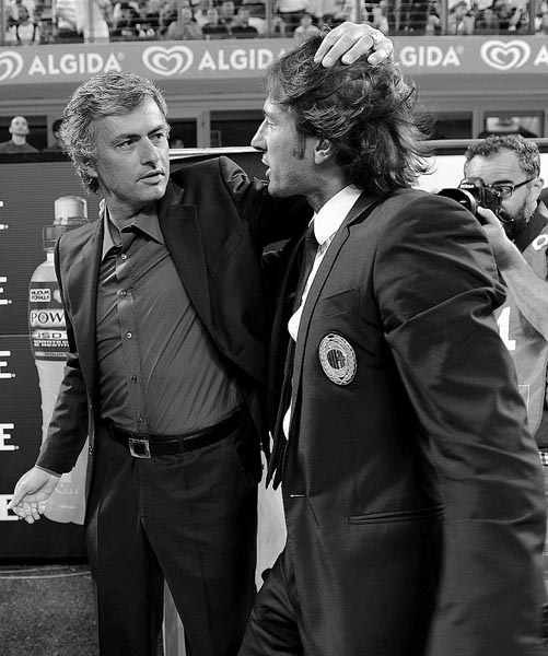 穆里尼奥与莱昂纳多