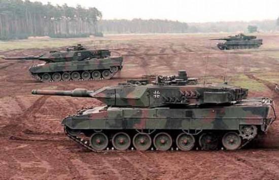 """德国豹2a7_德国将向沙特出售200辆""""豹2式""""主战坦克(组图)-搜狐滚动"""