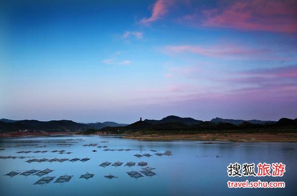 金海湖美景